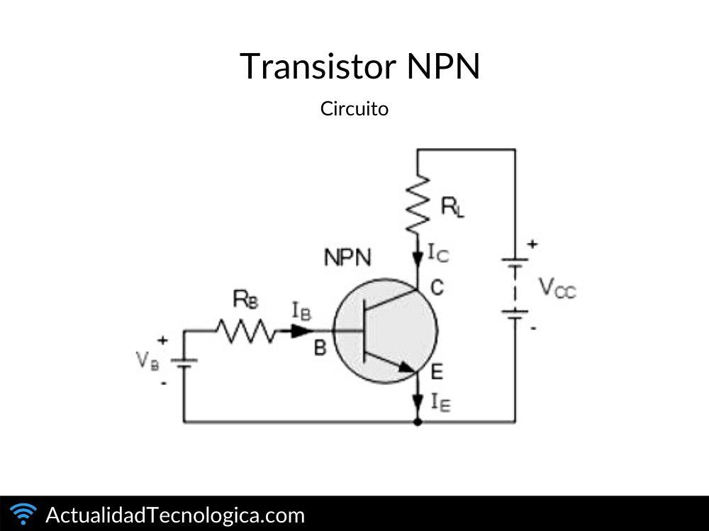 Transistor NPN circuito
