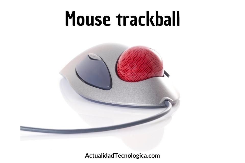 Mouse trackball
