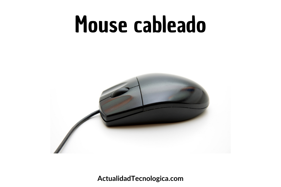 mouse cableado