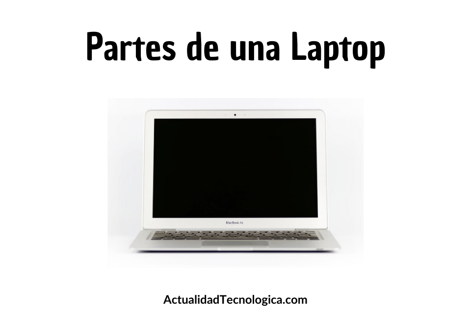 partes de una laptop