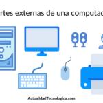 Partes externas de una computadora y sus funciones